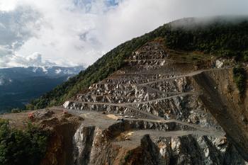 採掘鉱区写真1